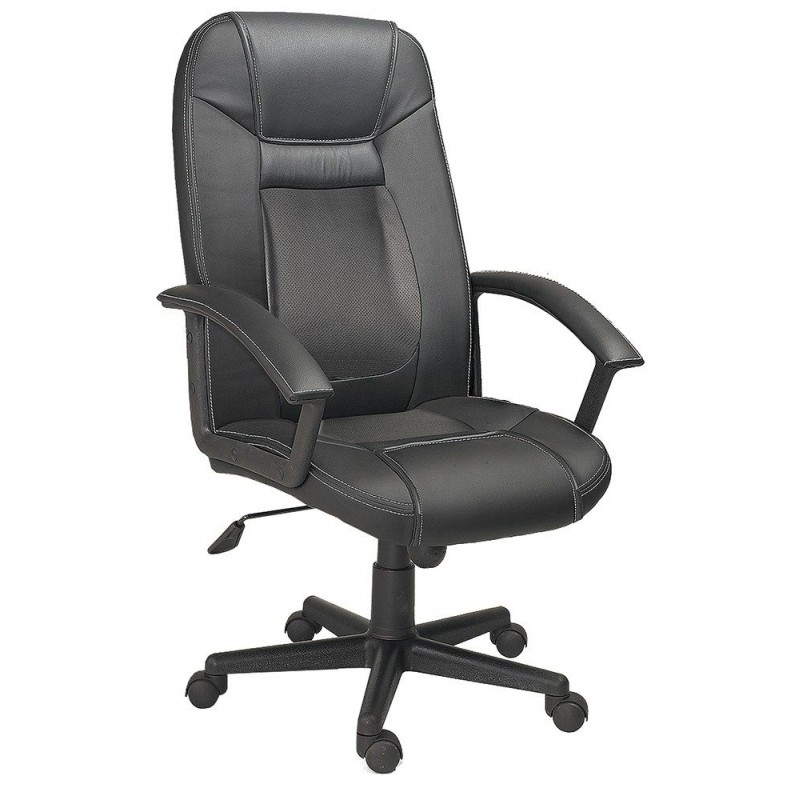 Silla oficina dream mubeko for Sillas altas giratorias para oficina