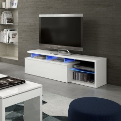 Mueble de TV Blu-Teach LEDS