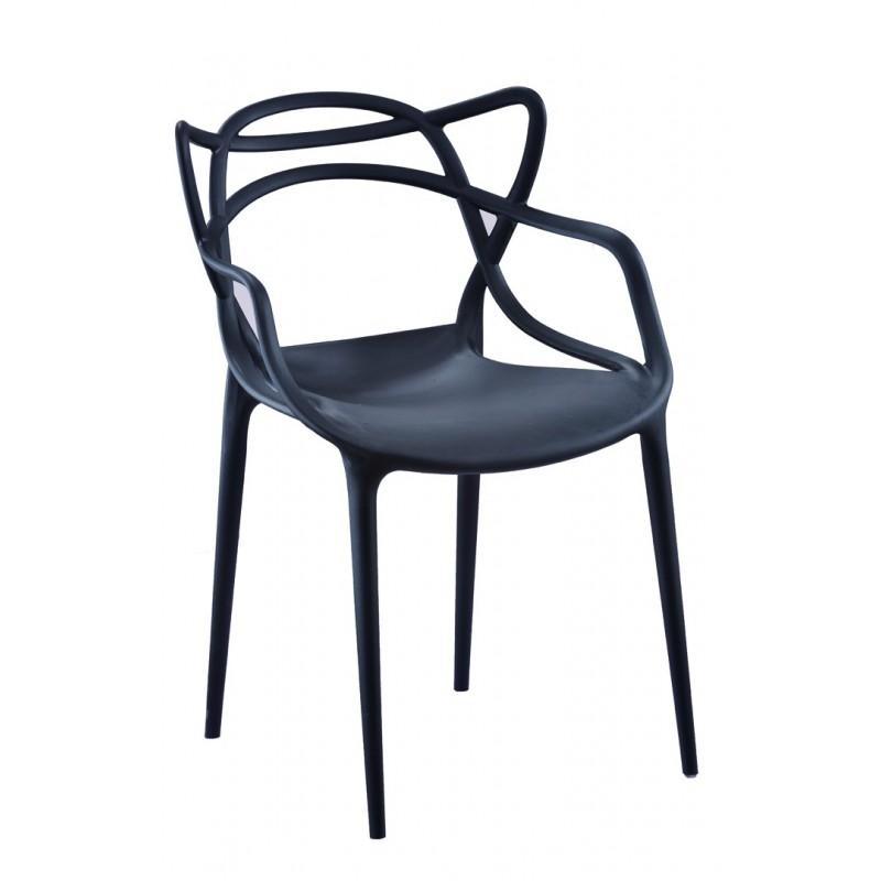 Silla modelo Concha Negro | Mubeko