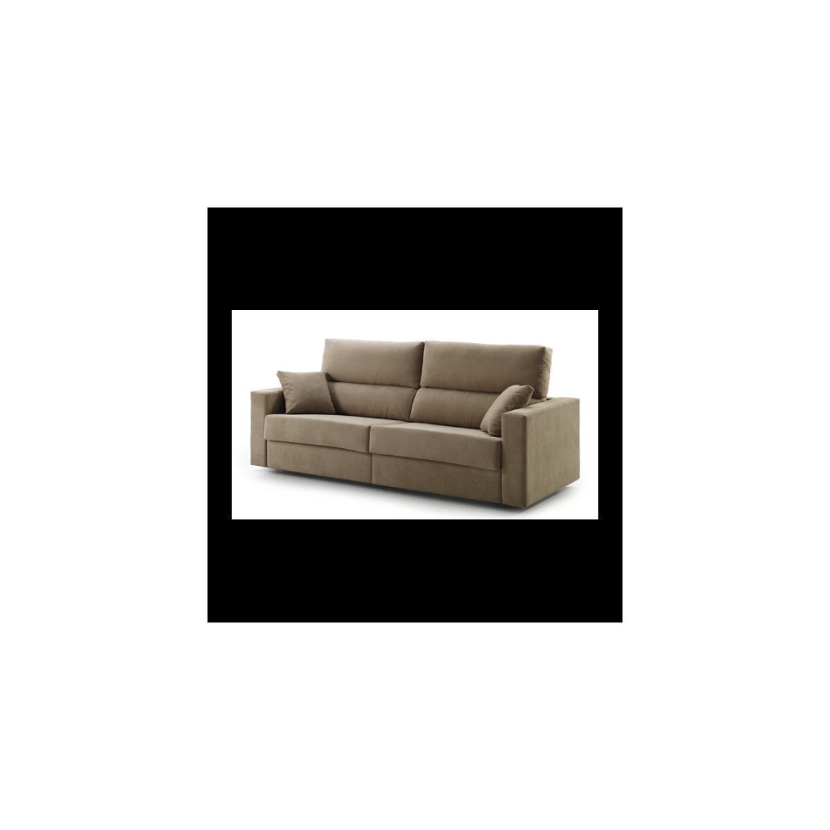 sof cama 3 plazas sistema italiano modelo carmen mubeko
