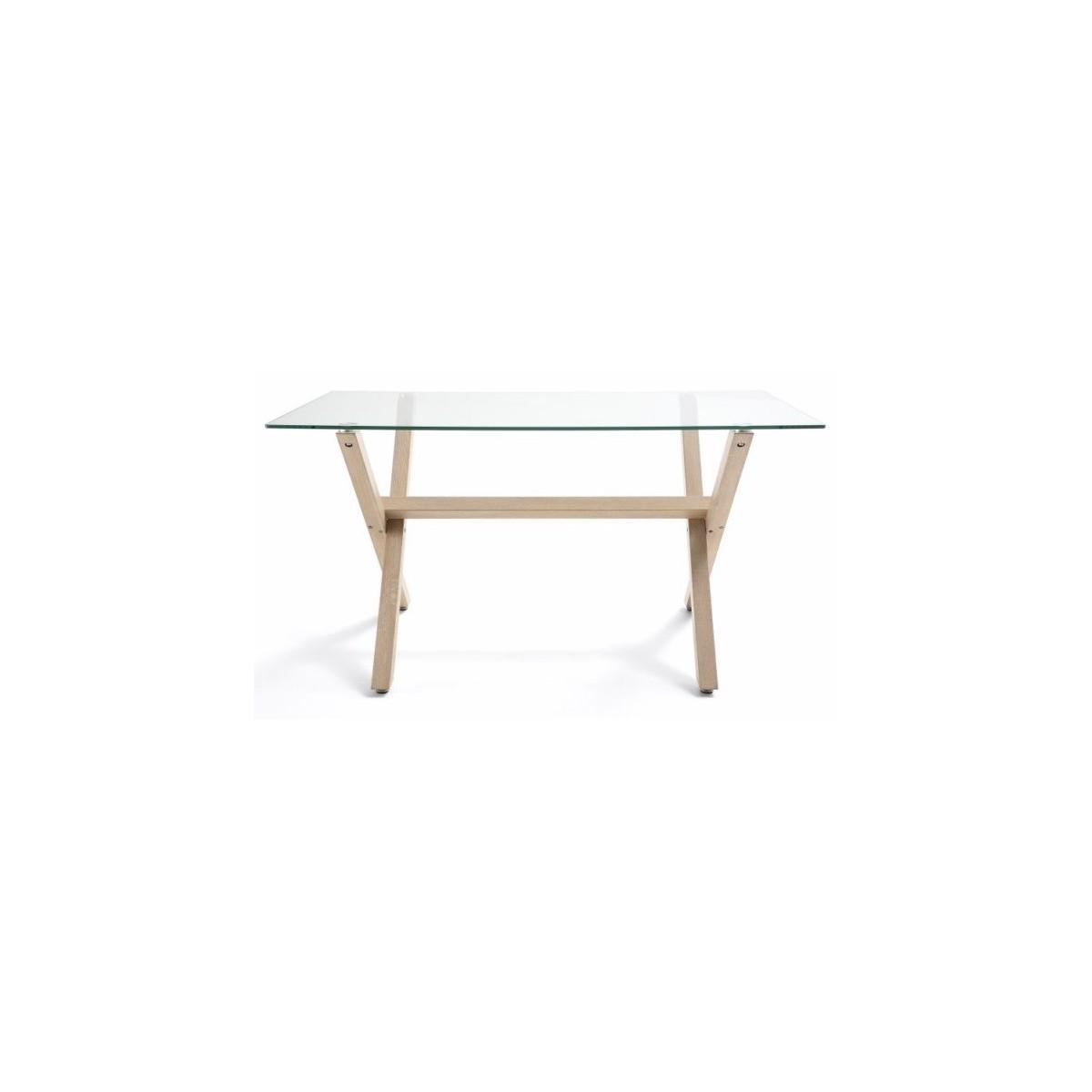 Mesa de comedor estilo n rdico modelo rem mubeko for Mesa estilo nordico