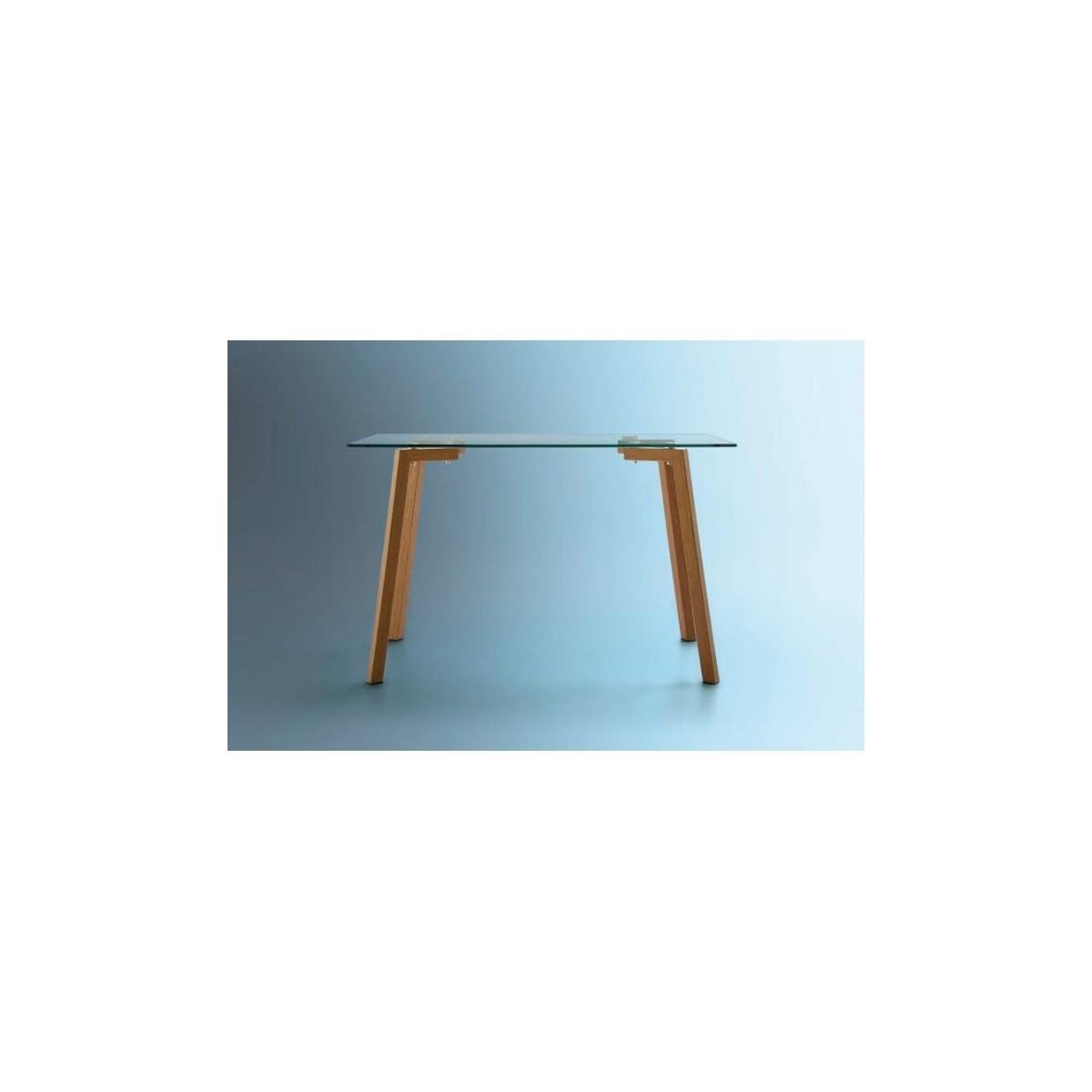 Mesa de comedor moderna modelo nino mubeko for Modelos de mesas de comedor modernas