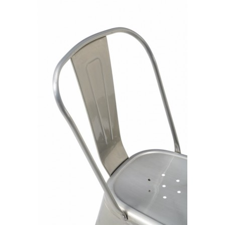 Silla Acero Industrila modelo Century - Varios Acabados