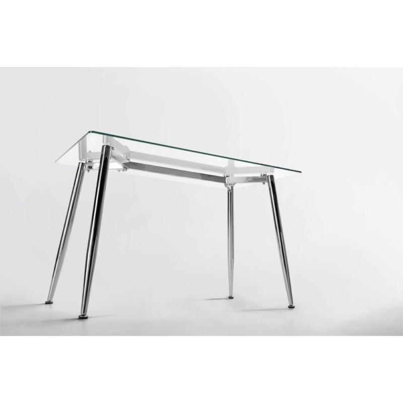 Mesa de Oficina Bugatti Cristal 140x80 | Mubeko