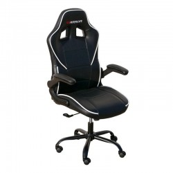SILLÓN GIRATORIO WARRIOR GAMER TEJIDO CARBONO