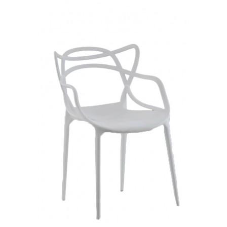 Silla modelo Concha Blanco| Mubeko