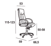 Medidas Sillon Executive